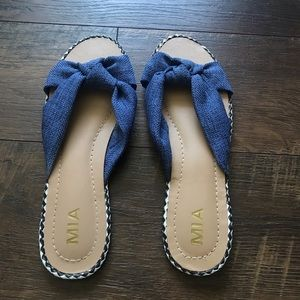 MIA slip on sandals
